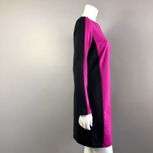 MICHAEL Michael Kors Pink & Black Shift Dress
